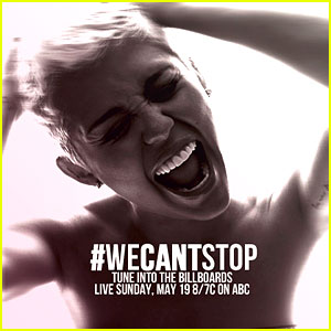We Cant Stop Single Cover Miley Cyrus: 'We Can...