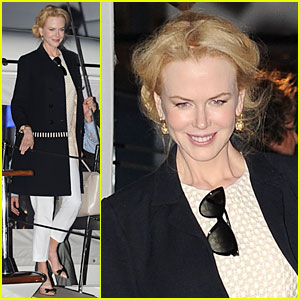 Nicole Kidman: Johnnie Walker Yacht Party at Cannes!