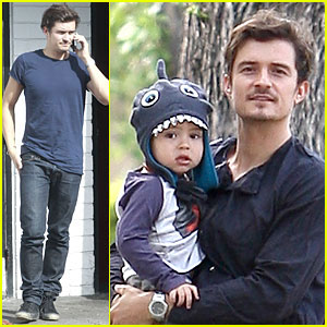 2013 May 07 | Just Jared | Page 3 Orlando Bloom And Miranda Kerr Baby Flynn 2013