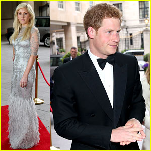 Prince Harry & Ellie Goulding: Walking with the Wounded Gala