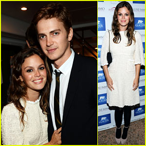 Rachel Bilson &amp; Hayden Christensen: Glacier Films Launch Party