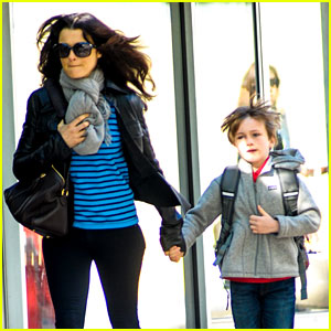 Rachel Weisz: Post-Mother's Day Outing with Henry!