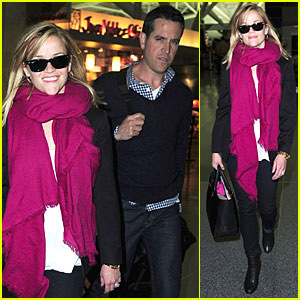 Reese Witherspoon: Blond Hair in New York with Jim Toth!