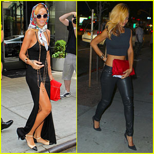 Rihanna: 'Summer in De Air' in New York City!