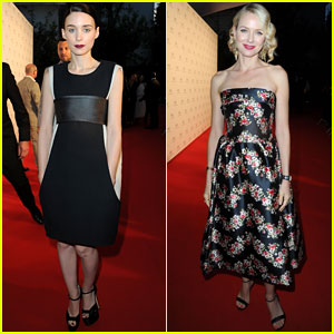 Naomi Watts &#038; Rooney Mara: Cannes Film Festival Festivities
