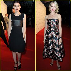 Naomi Watts & Rooney Mara: Cannes Film Festival Festivities
