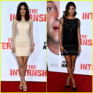 Rose Byrne & Jessica Szohr: 'The Internship' Premiere!