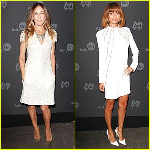 Sarah Jessica Parker & Nicole Richie: AOL Digital Content NewFront!
