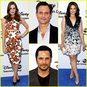 'Scandal', 'Revenge', & 'S.H.I.E.L.D' Stars: Disney Upfront!
