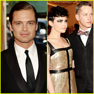 Sebastian Stan & Josh Dallas - Met Ball 2013 Red Carpet