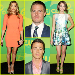 Stephen Amell & Colton Haynes: 'Arrow' CW Upfront Presentation
