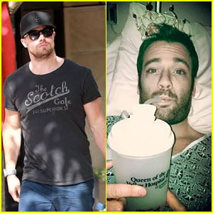 Stephen Amell Shops the Grove, Colin Donnell Has Surgery