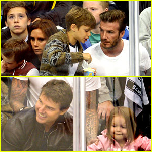 Tom Cruise & David Beckham: Kings Game with Families!