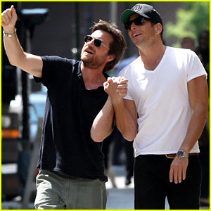 Will Arnett & Jason Bateman Hold Hands in New York City!