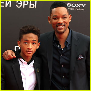 Will & Jaden Smith: 'After Earth' Russia Photo Call
