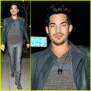 Adam Lambert: Ivy Levan is a Star!