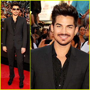 Adam Lambert: 'World War Z' NYC Premiere!