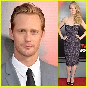 Alexander Skarsgard & Kristin Bauer: 'True Blood' Season 6 Premiere!