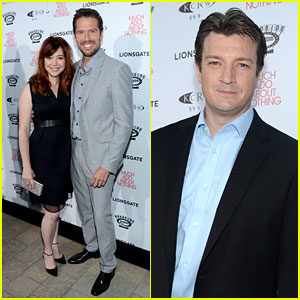 Alyson Hannigan & Alexis Denisof: 'Much Ado About Nothing' Premiere!
