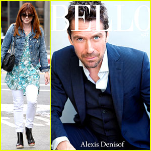 Alyson Hannigan Grabs Coffee, Alexis Denisof Covers 'Bello'