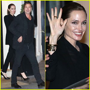 Angelina Jolie & Brad Pitt: Il Vino Dinner Date!