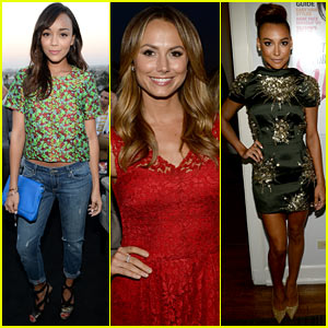 Ashley Madekwe & Stacy Keibler: Elizabeth and James InStyle Launch!