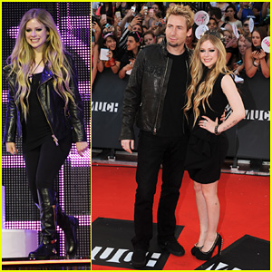 Avril Lavigne & Chad Kroeger - MuchMusic Video Awards 2013