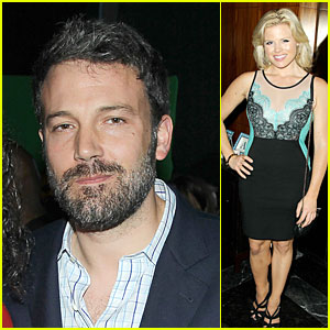 Ben Affleck & Megan Hilty: 'The Heat' Premiere After Party!