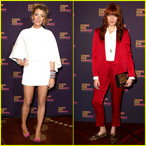 Blake Lively & Florence Welch: Chime for Change Concert!