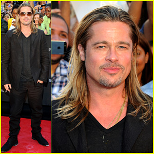 Brad Pitt: 'World War Z' New York Premiere!