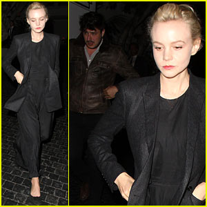 Carey Mulligan & Marcus Mumford Enjoy Night at Chateau Marmont