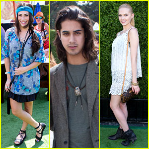 Chloe Bridges & Claudia Lee: Just Jared's Summer Kick-Off Party Presented By McDonald's!