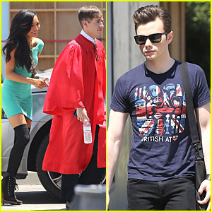 Chris Colfer & Naya Rivera: 'Glee' Season 5 Photo Shoot!