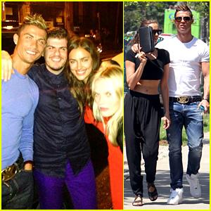 Cristiano Ronaldo & Irina Shayk: New York Lovebirds ... Irina Shayk And Cristiano Ronaldo 2013
