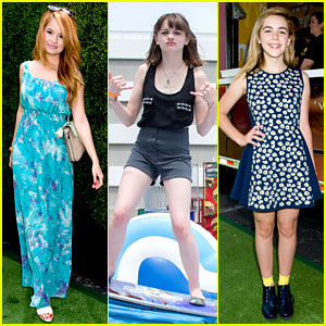 Debby Ryan & Kiernan Shipka: Young Hollywood at Just Jared's Summer Kick-Off Party!
