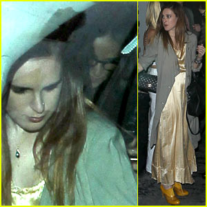 Demi Moore & Rumer Willis Sneak Out of Sayer's Club!
