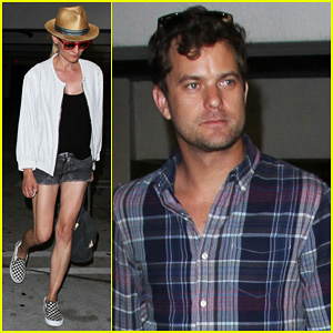Diane Kruger & Joshua Jackson: ArcLight Cinemas Date Night!