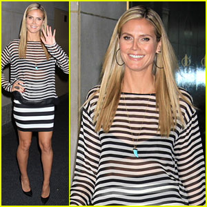 Heidi Klum Talks 'America's Got Talent' on 'Today Show'