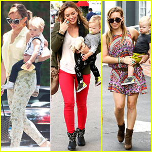Hilary Duff: Daily Outings with Luca!