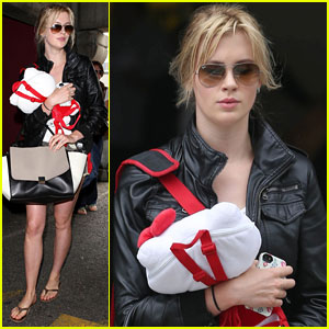 Ireland Baldwin Arrives in L.A