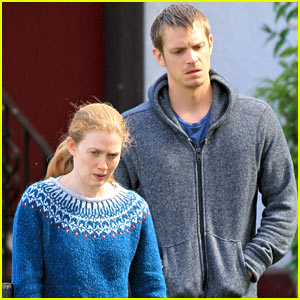 Joel Kinnaman & Mireille Enos Film 'The Killing' in Canada