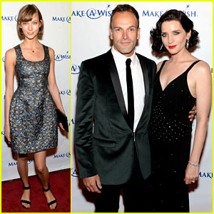 Karlie Kloss & Jonny Lee Miller: Make-A-Wish Event!