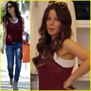 Kate Beckinsale: Mother-Daughter Shopping Trip with Lily!
