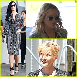 Katy Perry: 'Kroll Show' Set with Amy Poehler & Laura Dern!