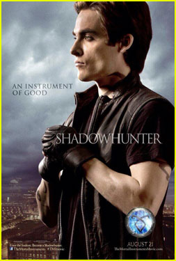 Kevin Zegers: 'Mortal Instruments' Character Poster!