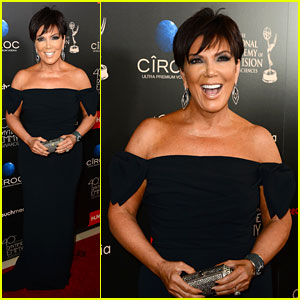 Kris Jenner: Daytime Emmys After Kim Kardashian Gives Birth