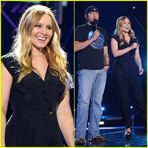 Kristen Bell & Jason Aldean: CMT Awards Rehearsals 2013!