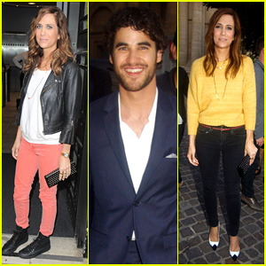 Kristen Wiig & Darren Criss: 'Girl Most Likely' London Promo!