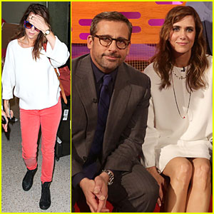 Kristen Wiig & Steve Carell: 'The Graham Norton Show' Guests!