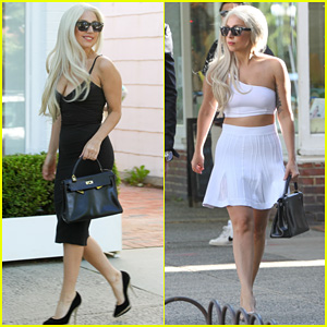 Lady Gaga: East Hampton Shopping Spree!